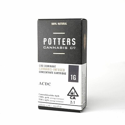 Potter Cannabis Cartridge