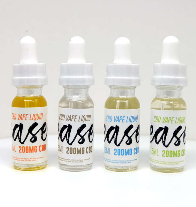 200mg CBD Vape Liquid – Ease