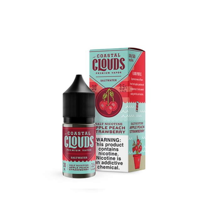 Apple Peach Strawberry Saltwater 30ml