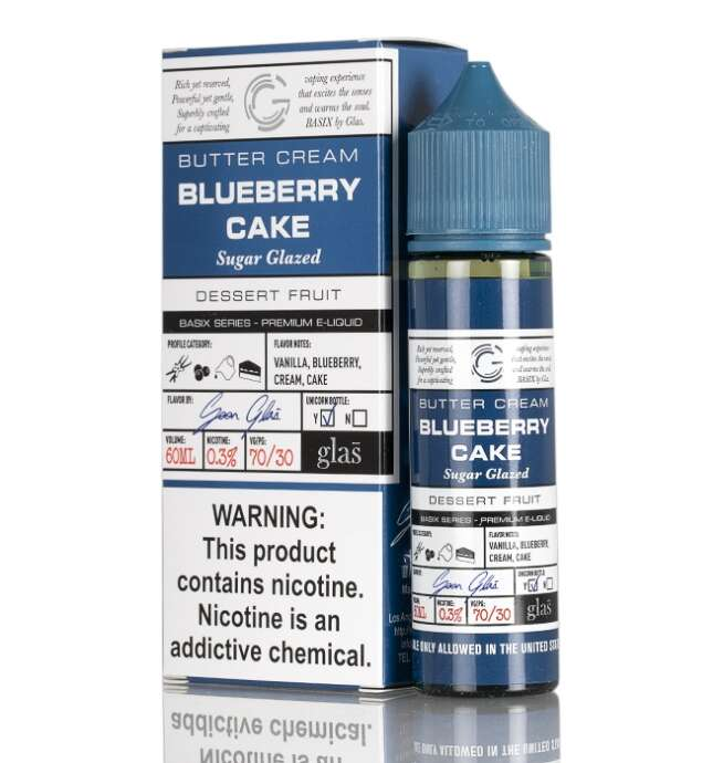 Basix - Blueberry Cake 60ml