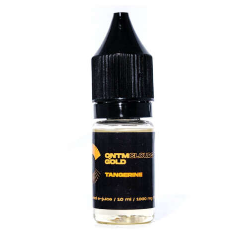 QNTM Clouds Gold THC Vape Liquid Tangerine – 1000mg